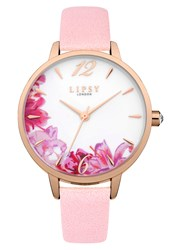 Lipsy Ladies Strap Watch Pink
