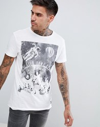 Blend Of America Space T Shirt 70002 White