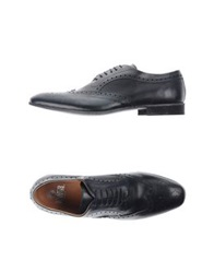 Enrico Fantini Lace Up Shoes Steel Grey