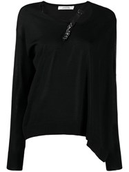 Dorothee Schumacher Sweater With Tape Black