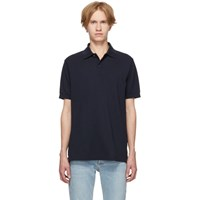 Paul Smith Navy Charm Button Polo