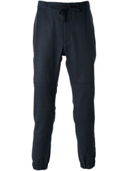 Marc Jacobs Drawstring Waist Track Trousers Blue