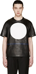 99 Is Black Leather Circle T Shirt