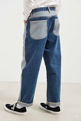 Bdg Colorblocked Baggy Jean Vintage Denim Medium