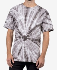 Neff Men's Tie Dyed T Shirt Charcoal