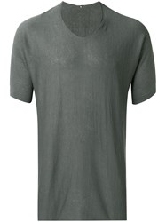 Label Under Construction Short Sleeve T Shirt Grey