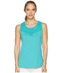 Aventura Clothing Pilar Tank Top Baltic Sleeveless Blue