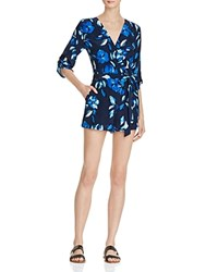 Yumi Kim Floral Liz Romper Night Time Elegance