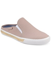 Tommy Hilfiger Frank Slip On Sneakers Women's Shoes Light Pink Perf