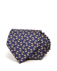 Bloomingdale's The Men's Store At Palm Tree Isle Classic Tie Navy Green