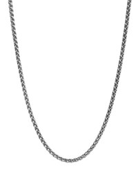 David Yurman Extra Small Wheat Chain Necklace Silver