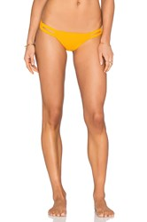 Vitamin A Neutra Hipster Bikini Bottom Orange