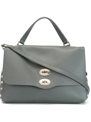 Zanellato 'Postina' Medium Bag Grey