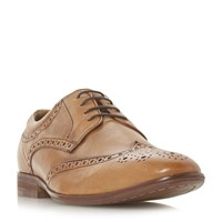 Howick Profit Padded Ankle Brogues Tan