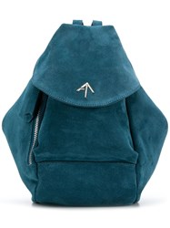 Manu Atelier Mini Fernweh Backpack Blue