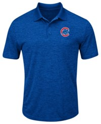 Profile Big And Tall Chicago Cubs First Hit Polo Royalblue