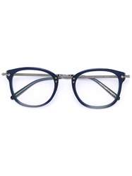 Oliver Peoples Op 506 Glasses Men Acetate Metal 49 Blue