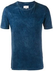 Maison Martin Margiela Pack Of Three Tie Dye T Shirt Blue