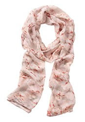 Vera Mont Long Floral Prnt Scarf