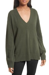 Rag And Bone Women's Ace Cashmere Sweater Green