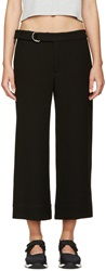 Nomia Black Cropped Trousers