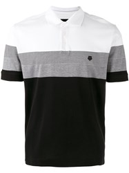 Z Zegna Contrast Polo Shirt Black