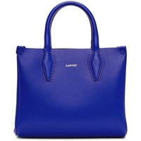 Lanvin Blue Mini Shopper Tote