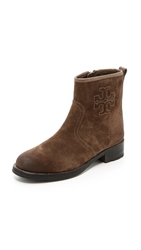 Tory Burch Simone Flat Booties Weathered Brown