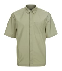 3.1 Phillip Lim Button Down Shirt Male Olive