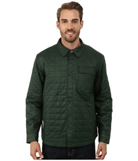 Icebreaker Helix Long Sleeve Shirt Conifer Redwood Awesome Men's Clothing Blue