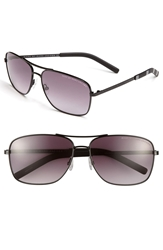 Marc By Marc Jacobs 59Mm Aviator Sunglasses Shiny Black