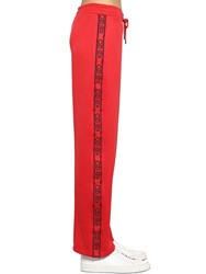 Kenzo Logo Band Techno Blend Track Pants Red