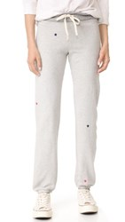 Sundry All Over Stars Sweatpants Heather Grey