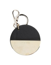 Coccinelle Key Rings Black