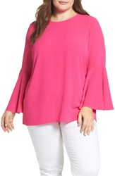 Vince Camuto Plus Size Women's Bell Sleeve Blouse