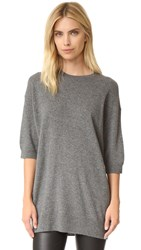 Vince Slouch Cashmere Sweater H Stone