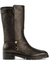 Tod's Mid Calf Length Boots Black