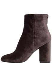 Warehouse Ankle Boots Dark Grey