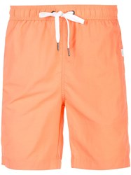 Onia Charles Swim Shorts Orange