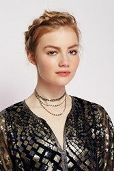 Lucky Star X Free People Womens Muse Chain Triple Choker