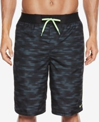 Nike Men's Flux Drawstring Swim Trunk 11 Black