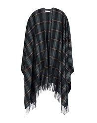 Stefanel Capes And Ponchos Dark Green