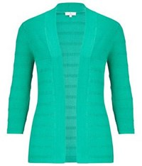 Cc Petite Bead Stitch Cardigan Green