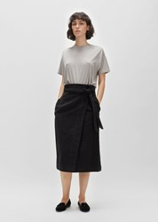 La Garconne Moderne Georgia Wrap Skirt Black