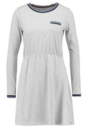 Twintip Jersey Dress Light Grey Melange Mottled Light Grey