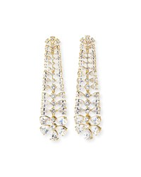 Fallon Vertebrae Drop Earrings Gold