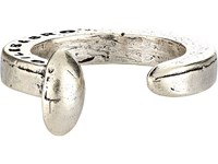 Giles And Brother Men's Railroad Spike Ring Silver