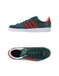 Adidas Originals Low Tops And Trainers Emerald Green