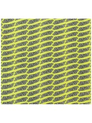 Diesel Patterned Scarf Yellow