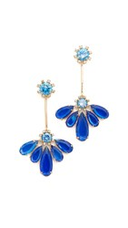 Kate Spade Color Crush Drop Earrings Sapphire